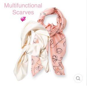 Lark and Ives hair scarves